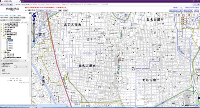 宅地利用動向調査白地図