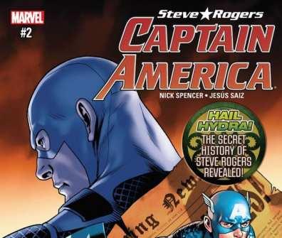 Captain America Steve Rogers #2 News My Geek Actu
