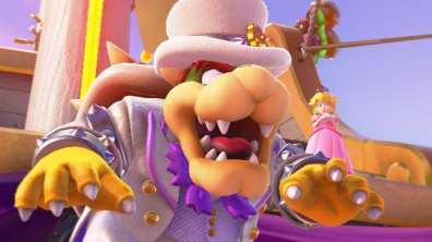 Super Mario Odyssey Test Nintendo Switch My Geek Actu Intro Bowser