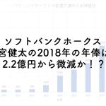 ソフトバンクホークス今宮健太の2018年の年俸は?2.2億円から微減か!?のアイキャッチ画像