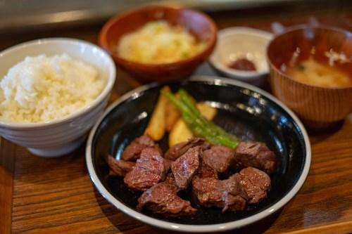 番人ステーキ定食(並) ¥980-