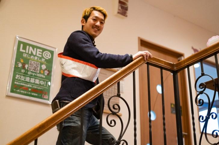 なんだか階段ですらオシャレ