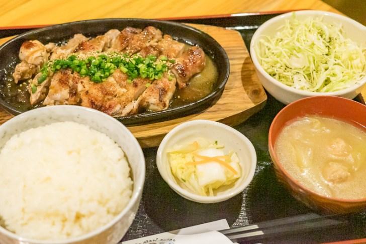 鶏モモステーキ定食¥880