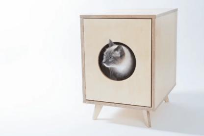 kattenbakombouw hout