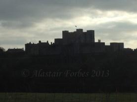 Rear of Dover Castle
