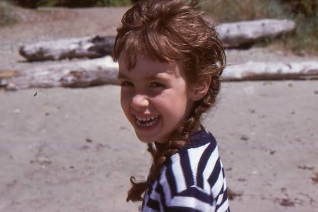 """Four-year old me during a summer visit to my Grandparents' home in Tofino on Vancouver Island. (1977)"" - Emma Varley"