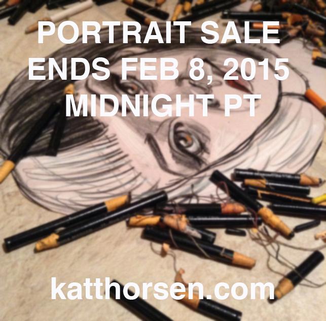 Portrait sale