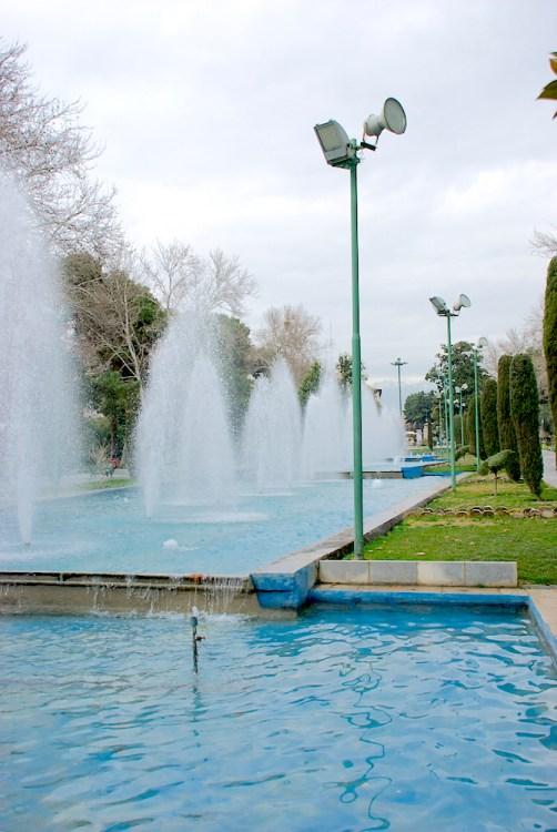Park-e-Shahr e il Tochal sullo sfondo.