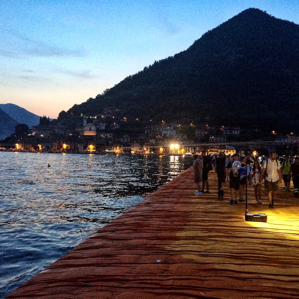 Floating Piers Iseo Lake