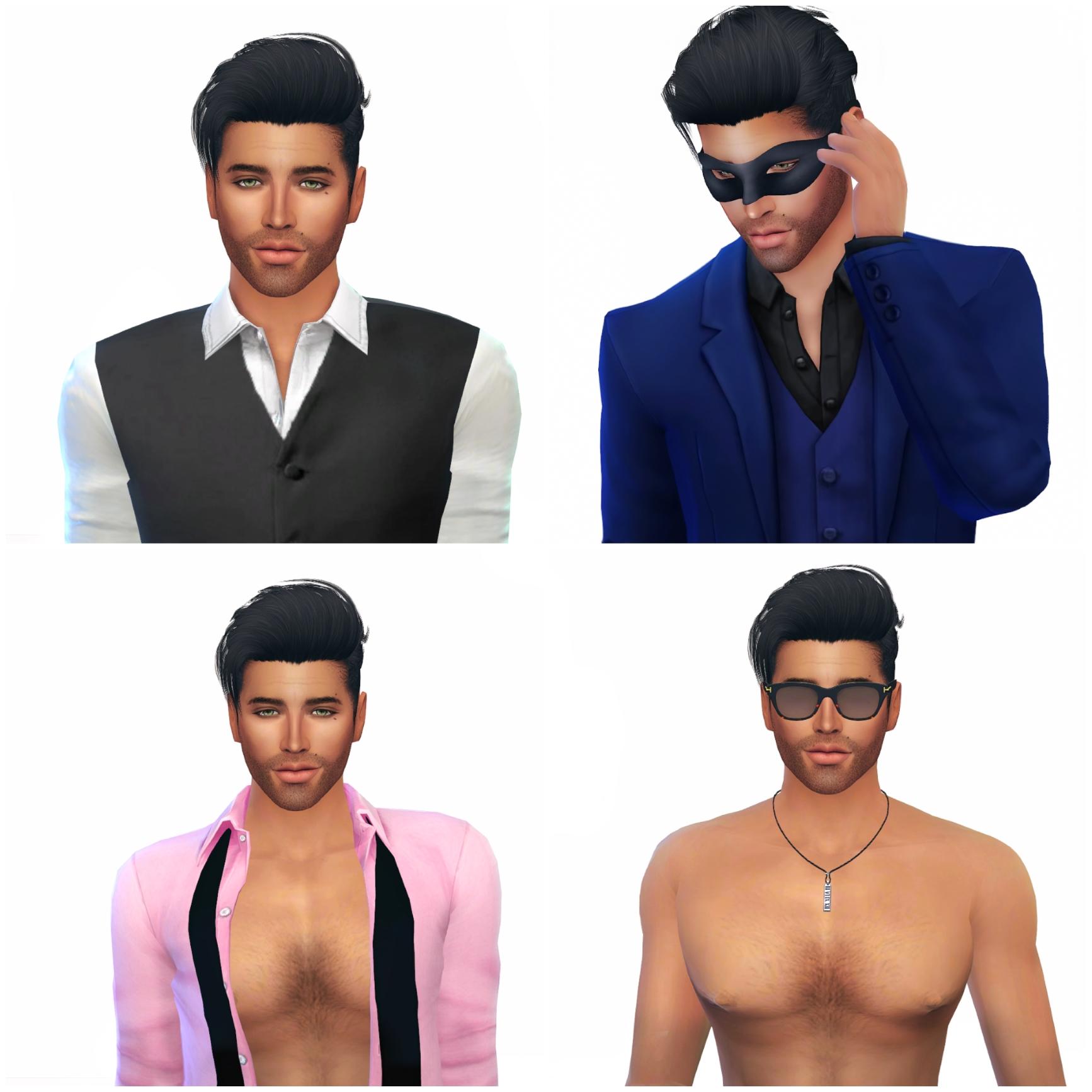 The Sims 4 I Create A Sim I Mr. Antony