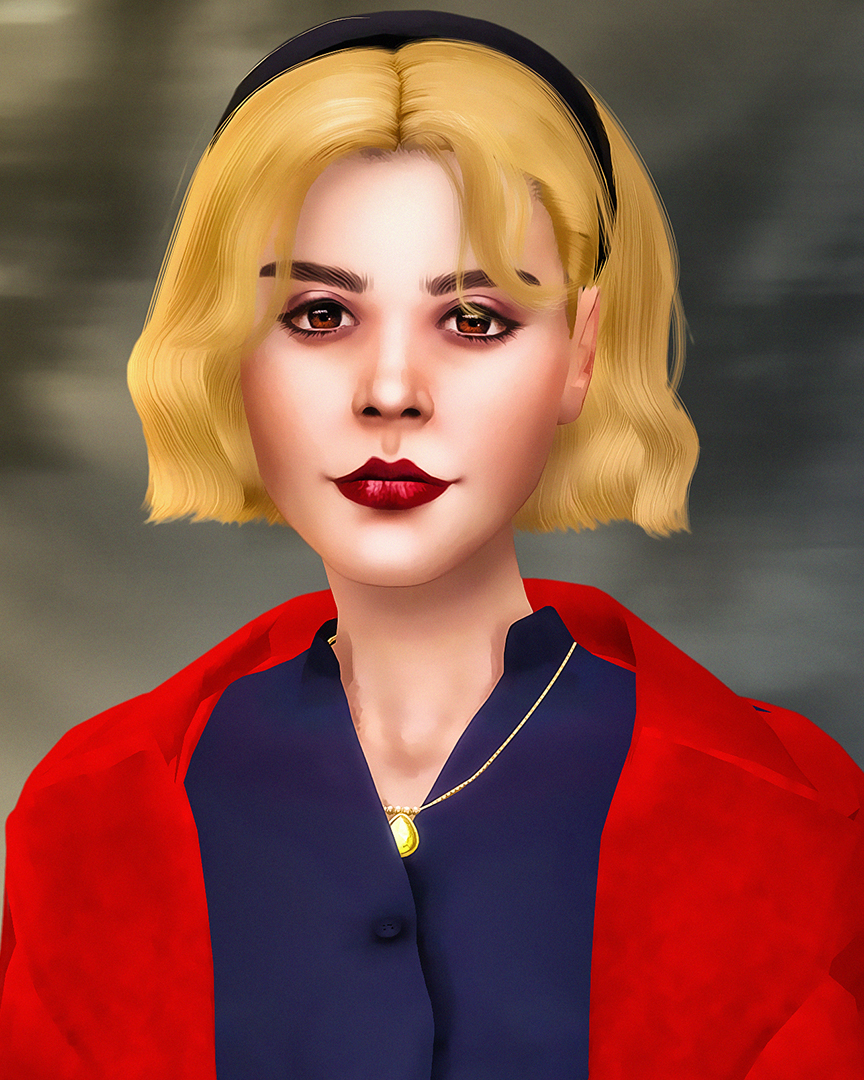 The Sims 4 CAS – Chilling Adventures of Sabrina – Sabrina