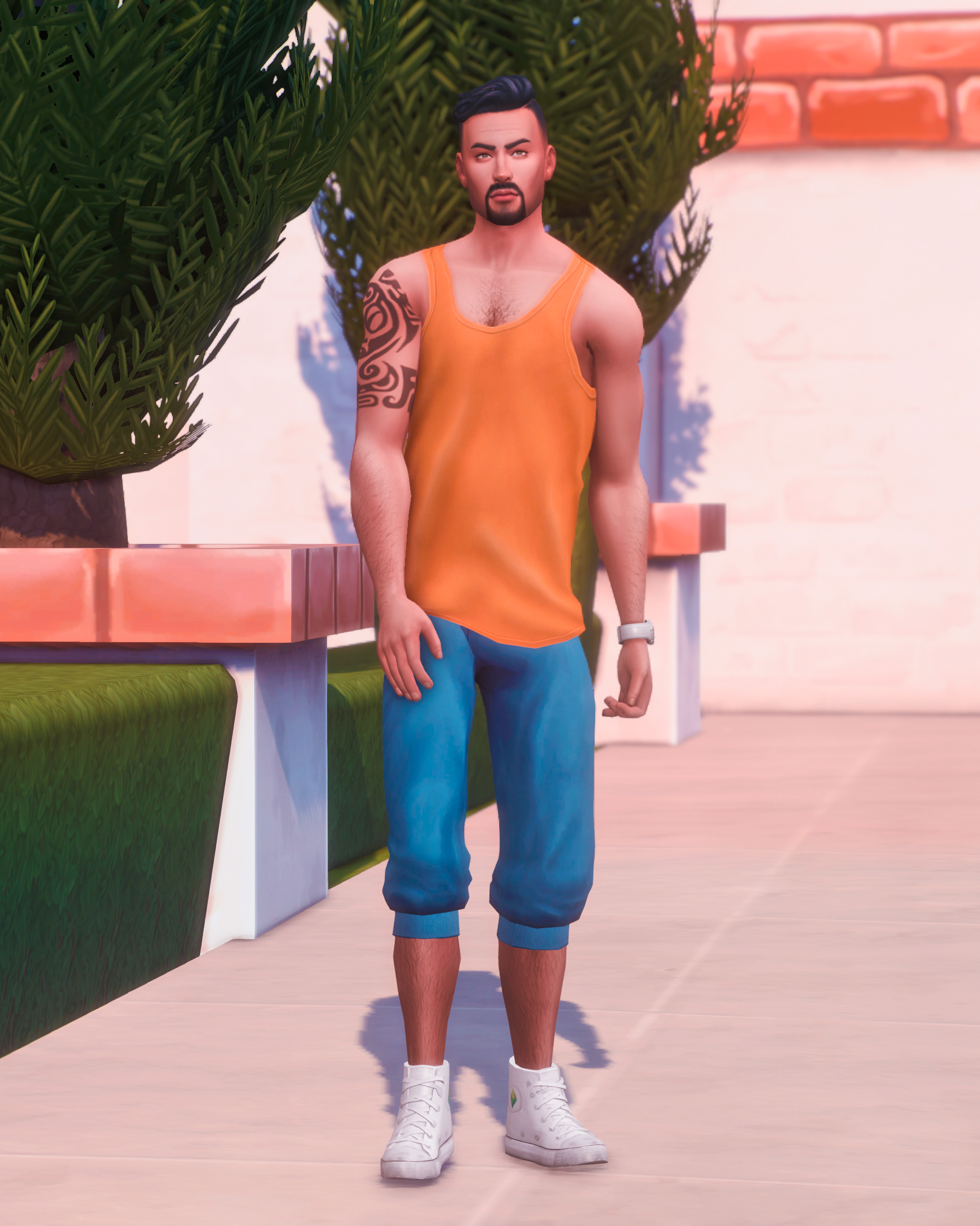The Sims 4 Townie Makeover – Don Lothario