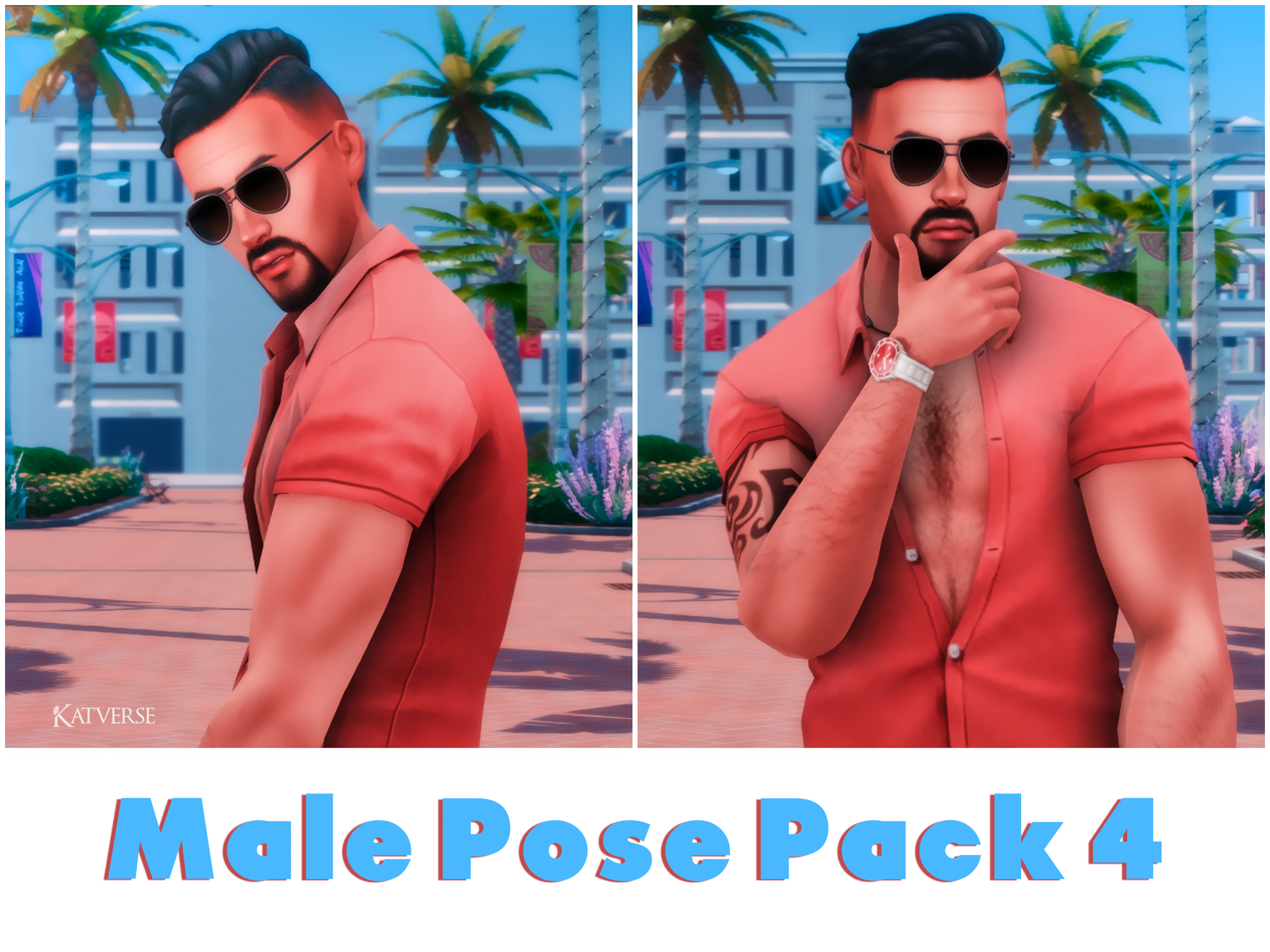 Male Pose Pack 4
