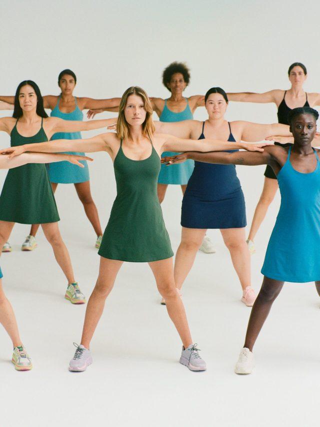 Exercise Dress, Outdoor Voices, Outdoor Voices Exercise Dress, KatWalkSF, Kat Ensign, San Francisco Blogger, San Francisco Fashion Blogger