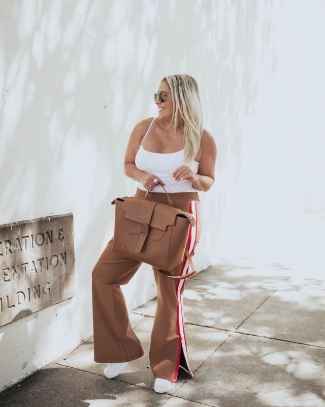 Maeve Martine Ponte Track Pants