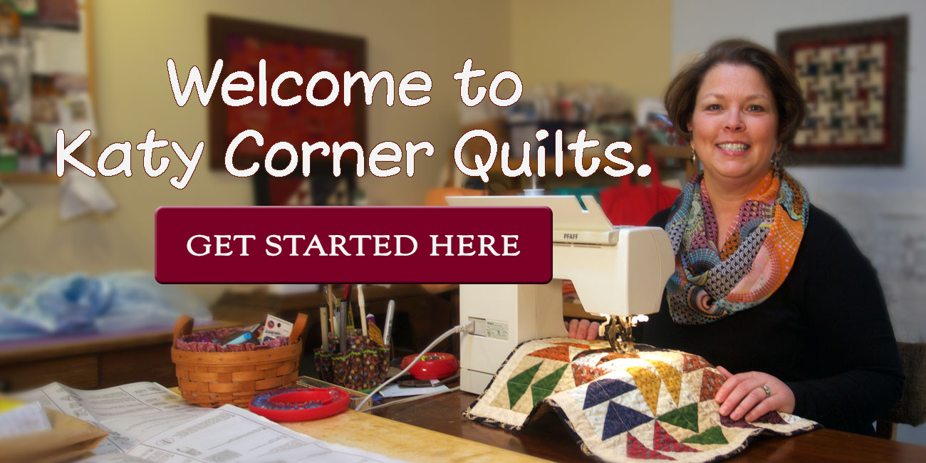 Welcome to Katy Corner Quilts
