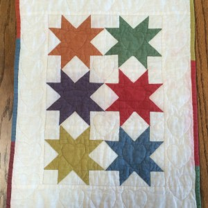 Amish Stars Doll Quilt