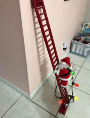 Automatic Santa Climbing Ladder With Music photo review