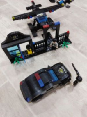 8 In 1 City Police Truck Station Building Block Series Swat Toy Gift For Kids photo review