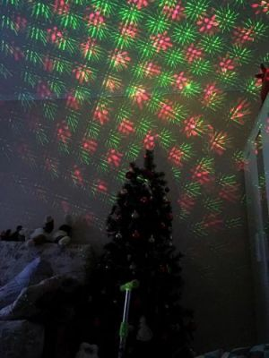 Christmas Light Projector Laser Outdoor photo review