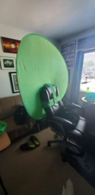 Portable Collapsible Green Screen photo review