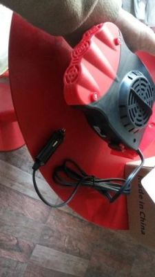 Portable Car 12V Heater Electric Plug In photo review