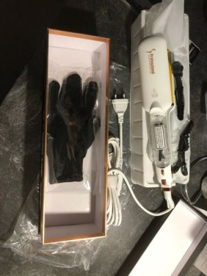 Professional Infrared & Steam Straightener photo review
