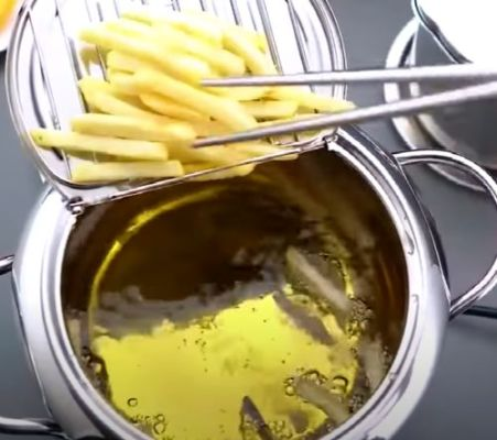 Stainless Steel Flat Bottom Fryer photo review