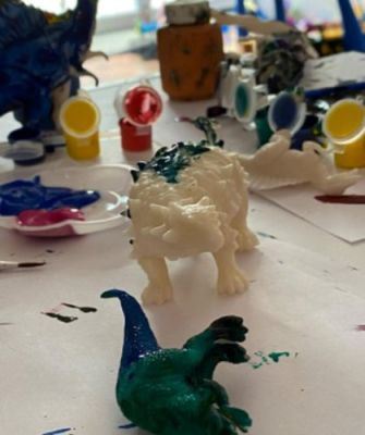 Paint Your Own Dinosaur Kit (Various Designs) photo review
