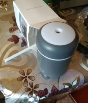 Portable H2O Ultrasonic Air Humidifier With Romantic Light photo review