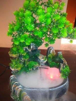 Mystic Garden Tabletop Fountain photo review