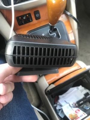 Premium Portable Car Heater Windshield Defroster Plug In 12 Volt Space Heater For Cars photo review