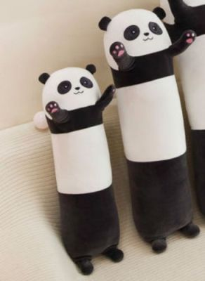 Long Panda Bear Soft Stuffed Plush Body Pillow Toy photo review
