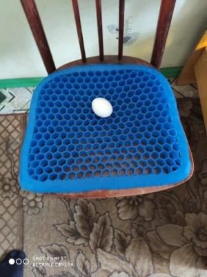Egg Sitter Gel Seat Cushion - Incredibly Flexible Honeycomb Seat Cushion photo review
