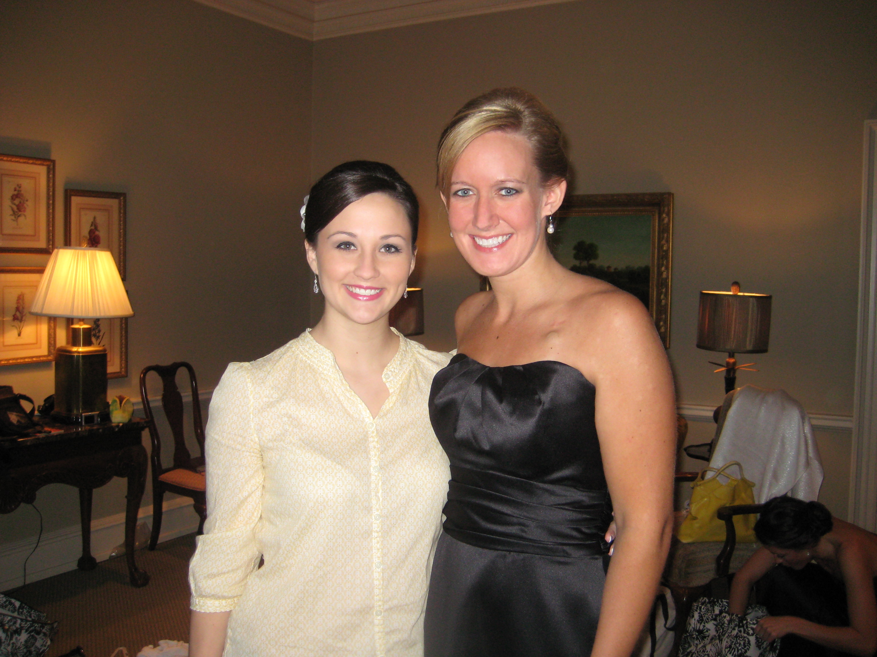 Bride and Maid-of-Honor