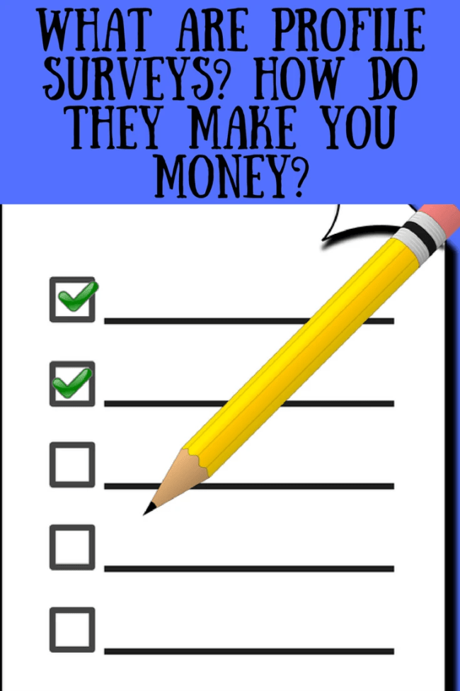 What are profile surveys? How do they make you money? Money making, paid surveys, paid work, get paid to, online moneymaking