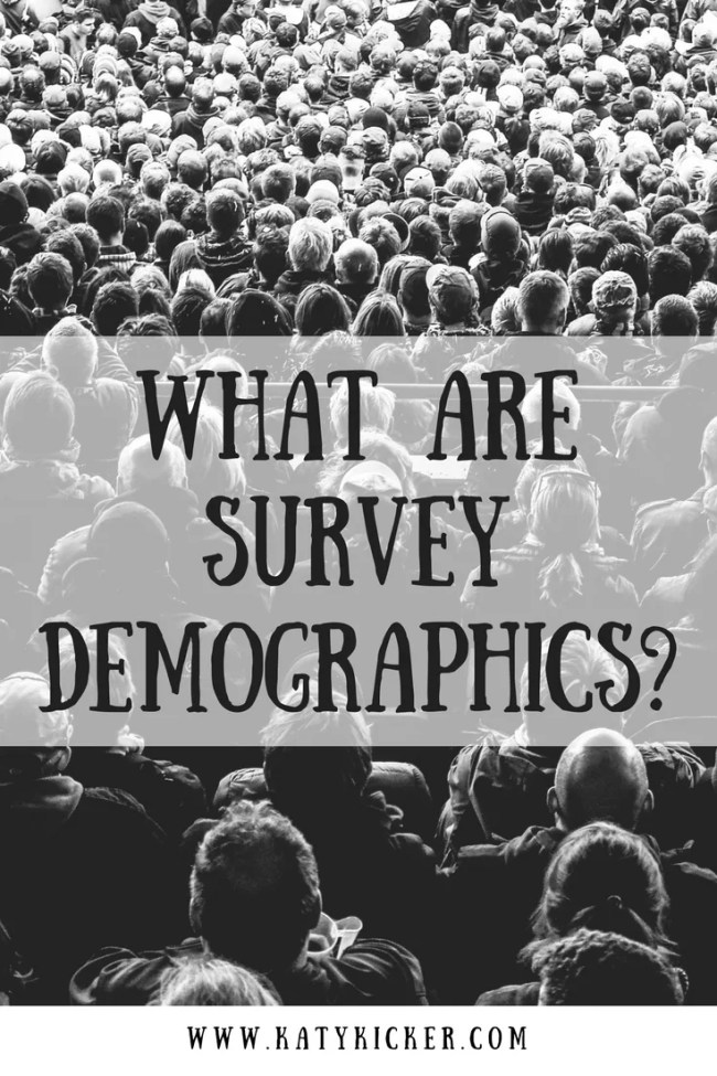 What are survey demographics? Find out more about the questions that you get when you complete paid surveys