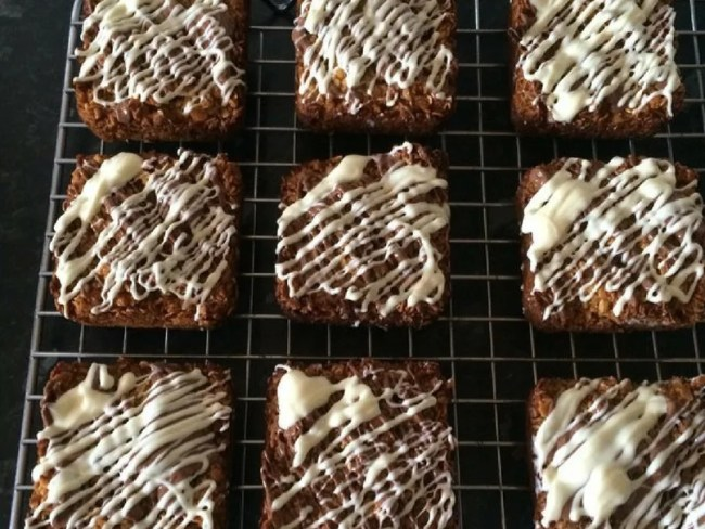 My Kitchen Craft brownie pan is great for making individual snacks