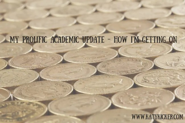 Prolific Academic update