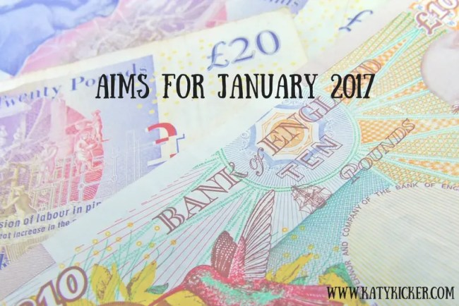 Find out more about my Aims for January 2017