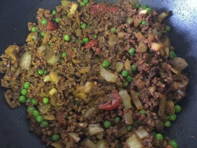 Slow cooker beef keema