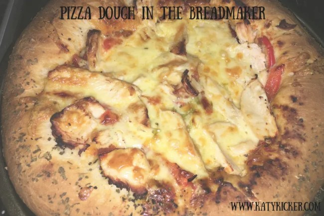 Pizza dough in the breadmaker