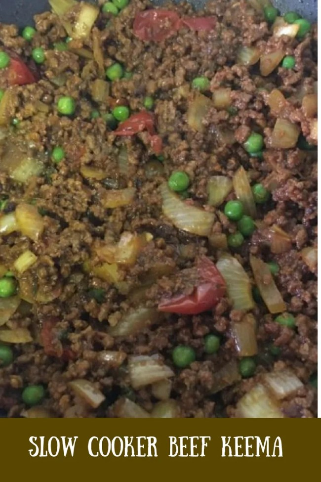 A super simple slow cooker beef keema curry is ready to go in the slow cooker in just minutes! This is a frugal curry, cheap to make and tastes delicious!