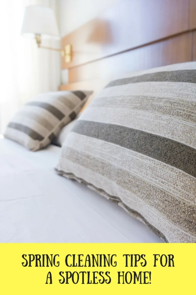 Spring cleaning tips for a spotless home!