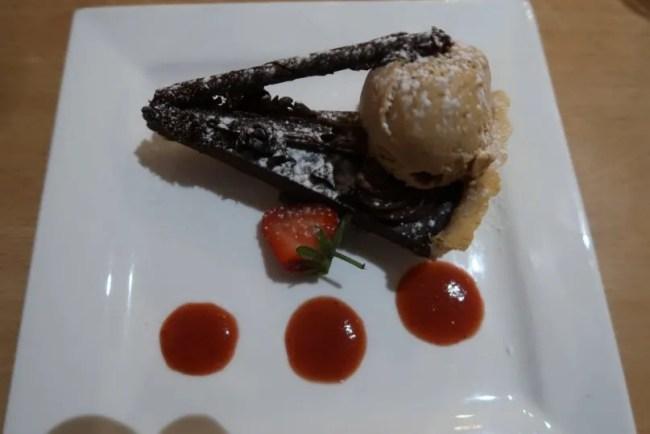 La Brasserie - Dessert Chocolate Tart