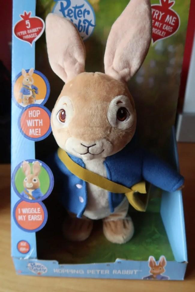 Peter Rabbit Hop With Me Plush