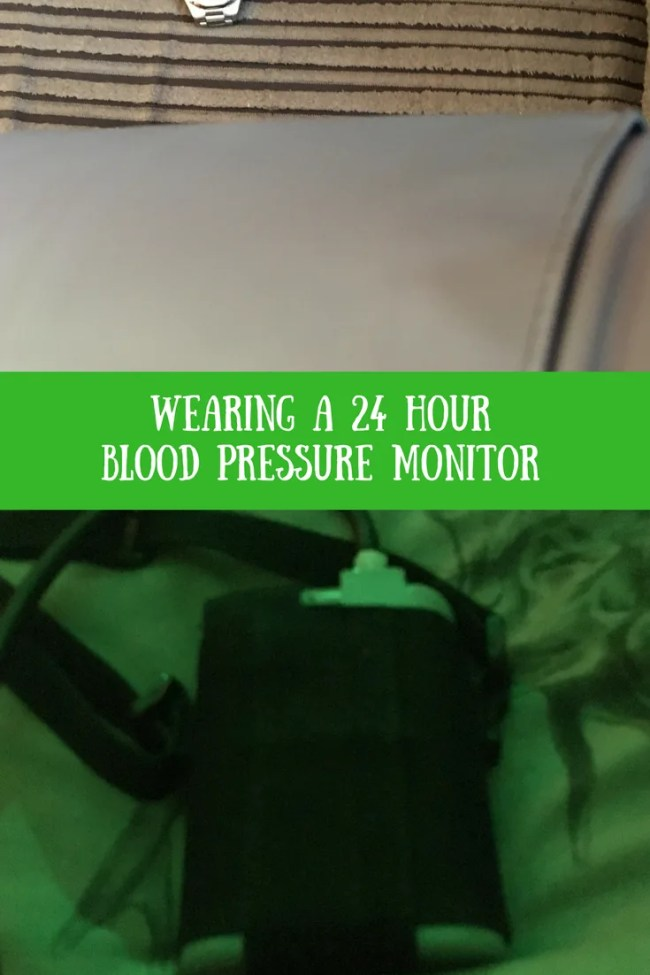 What to expect when you wear a 24 hour blood pressure monitor. Find out what to wear, how uncomfortable it is and when you get the results