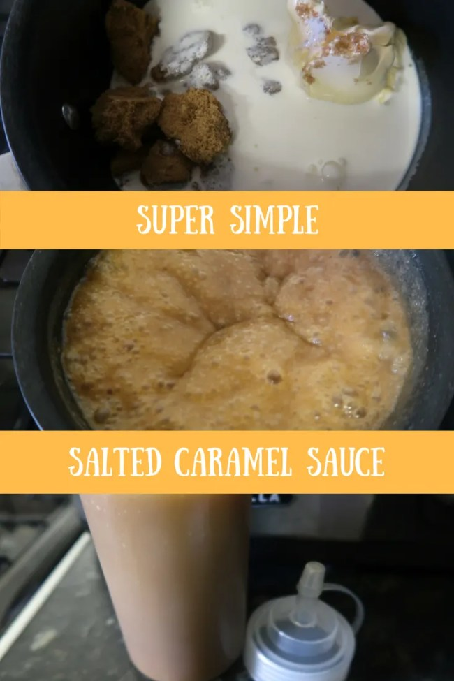 Fancy making a super simple salted caramel sauce? This sauce is ready in just minutes and uses just 4 ingredients