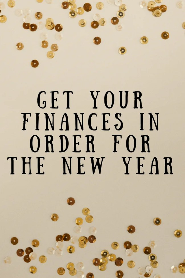 Get your finances in order for the new year. Make and save money, save money on car insurance, life insurance and credit card deals. Meal plan, cut down on waste and complete a savings challenge