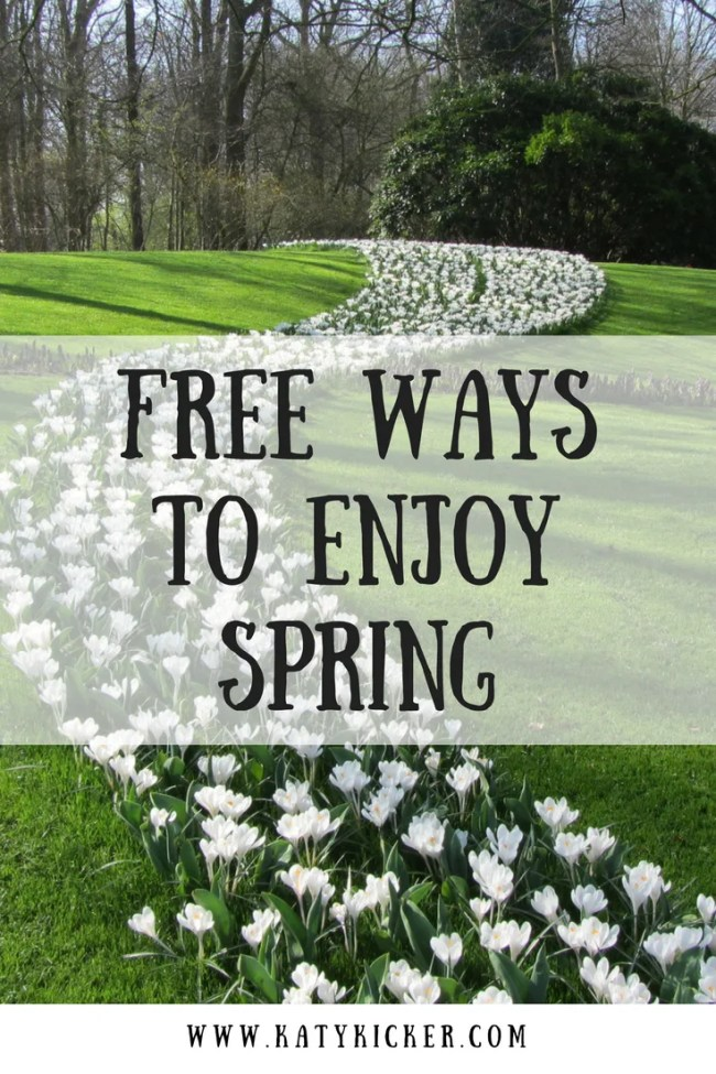 Favourite free ways to enjoy Spring. I asked other bloggers for their favourite ways to save money during Spring and I've compiled a list for you! Enjoy Spring frugally